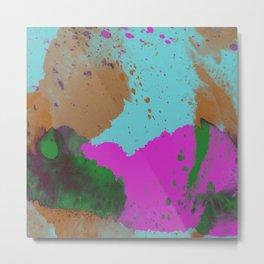 Ink Feelings - Abstract ink / watercolour painting Metal Print