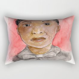 Like a Boss: Biddy Mason Rectangular Pillow