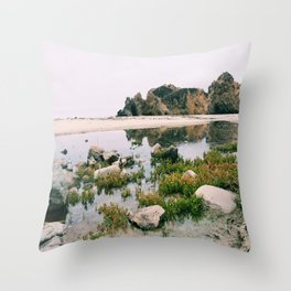 Pfeiffer Beach Throw Pillow