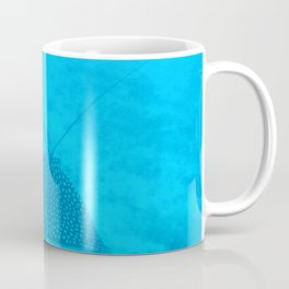 Watercolor Ray, Spotted Eagle Ray 03, St John, USVI Coffee Mug