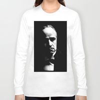 godfather Long Sleeve T-shirts featuring the godfather  by Fotis