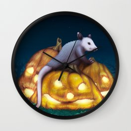 Autumn Decay Wall Clock