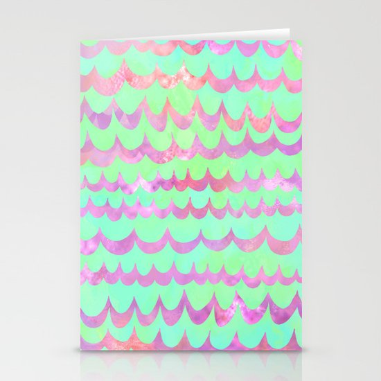 WAVES - Pastel Stationery Cards