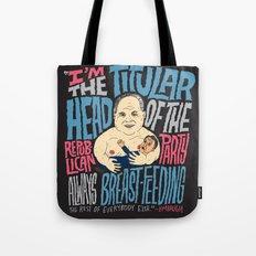 Titular Head Tote Bag