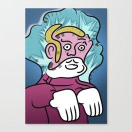 Uncle Zombie Canvas Print