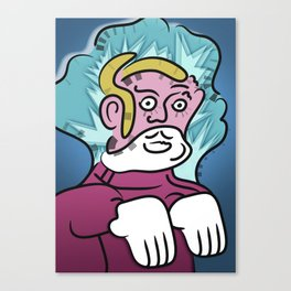 Uncle Zombie Canvas Print