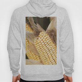 cobs and corn in the farm Hoody