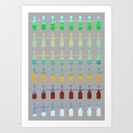 Longer summer Art Print
