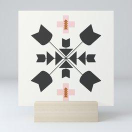 Zulu Tile Mini Art Print
