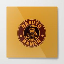 Naruto Ramen Metal Print