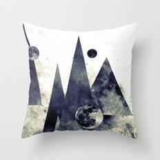 Wandering star Throw Pillow