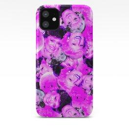Golden Girls Toss in Electric Pop Pink iPhone Case