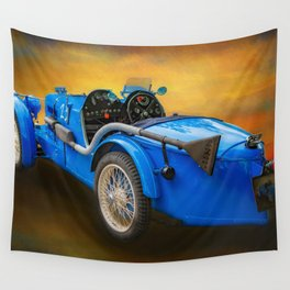 MG Sports Car Wall Tapestry