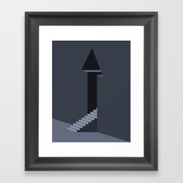 The Temple of Tomorrow Framed Art Print