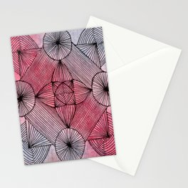 Zendala of Lines Stationery Cards
