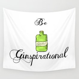 GinSpiration Wall Tapestry