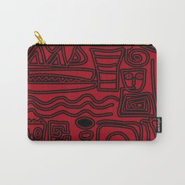 Africa Red Carry-All Pouch