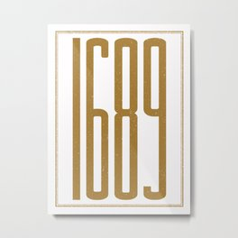 1689 (alt color) Metal Print