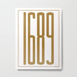 1689 (alt color) Metal Print