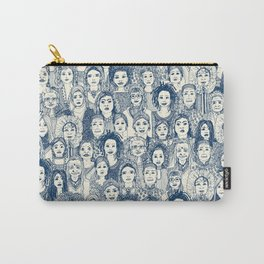 WOMEN OF THE WORLD BLUE Carry-All Pouch