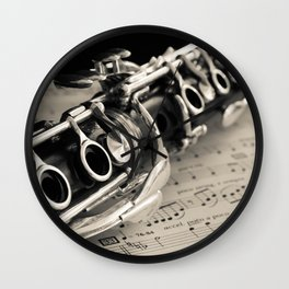 Clarinet Wall Clock