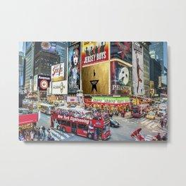 Times Square II Metal Print
