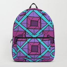 Squares in Diamonds Backpack