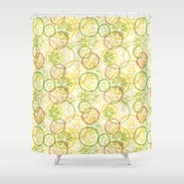 Citrus_yg Shower Curtain