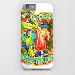 margaritaville somewhere five o'clock drink 2021 iPhone Case