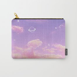 Doodle Pastel Sunset Carry-All Pouch