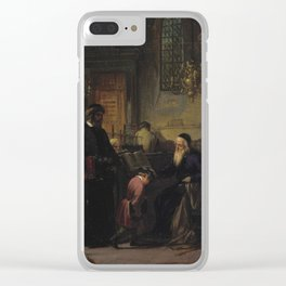 THE BLESSING OF THE RABBI Clear iPhone Case
