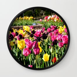 Muscogee (Creek) Nation - Honor Heights Park Azalea Festival, No. 11 of 12 Wall Clock