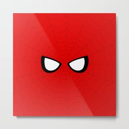 Spider Look Metal Print