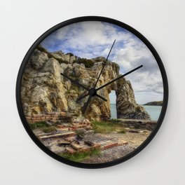 Beauty and Decay Wall Clock