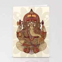 ganesha Stationery Cards featuring Ganesha: Lord of Success by Valentina Harper