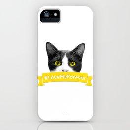 #LoveMeForever iPhone Case