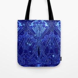 An Art Nouveau Night Sky Tote Bag