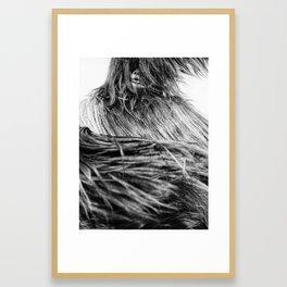 Kuker Performer Black and White Portrait Photography I Framed Art Print
