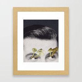 Dead eyes Framed Art Print