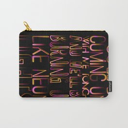 Neon Lights Carry-All Pouch