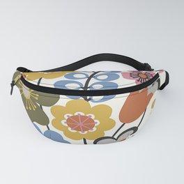 Piper Multicolor Retro Boho Floral Fanny Pack