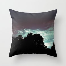 Just That Glow Throw Pillow