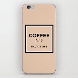 Latte No5 iPhone Skin