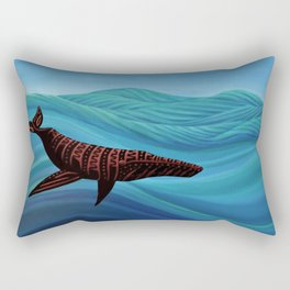Spirit Whale Rectangular Pillow