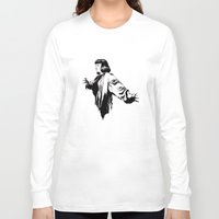 mia wallace Long Sleeve T-shirts featuring Mia Wallace by El Kane
