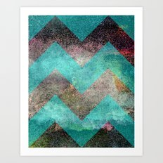 Star Scape & Travel #2 Art Print