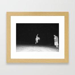 J.W. Framed Art Print