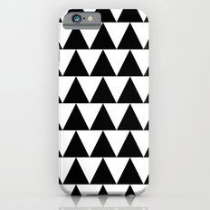 Black and White Triangle By PencilMeIn iPhone 6s Slim Case