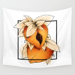 Eat a Lotta Peaches Wall Tapestry