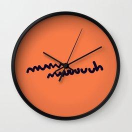mmmuuuuh vaca-berguedana  Wall Clock